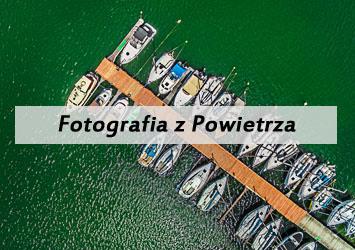 Fotografia z powietrza baner