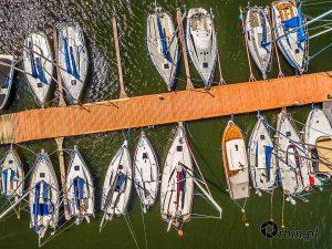 łódki z powietrza -Fotografia z drona. Studio Orbin_