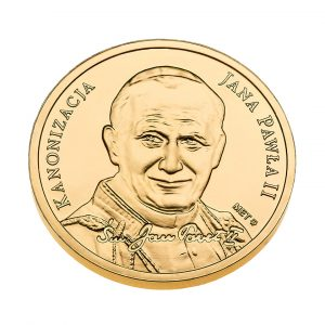 Moneta Pamiątkowa awers - Fotografia produktowa Orbin.pl