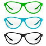 okulary 3 kolory - fotografia produktowa Orbin.pl