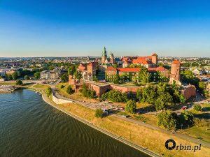 Fotografia z drona - Kraków, Wawel2. Studio Orbin