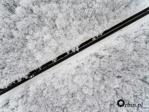 zima Fotografia z drona1. Studio Orbin_