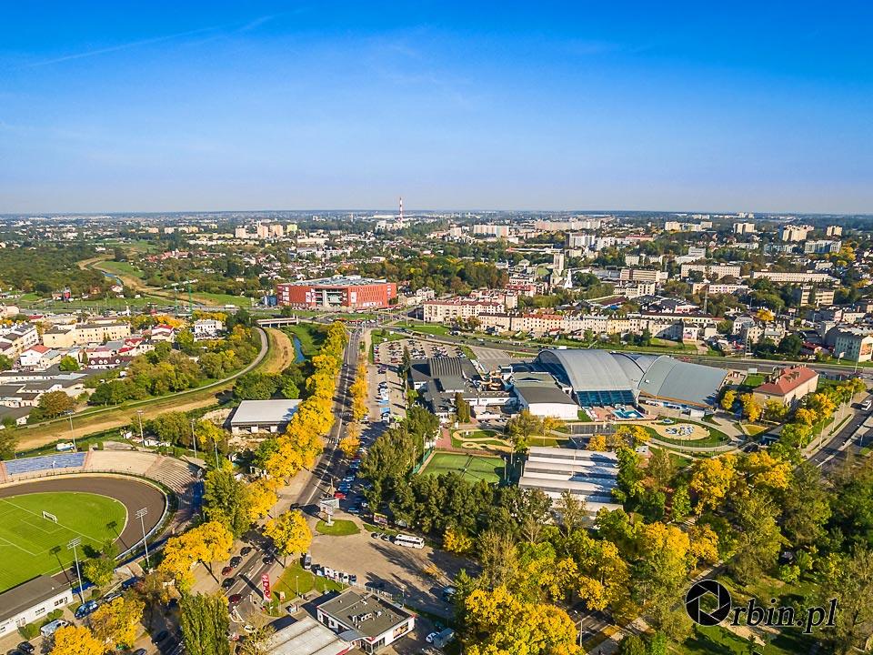 Lublin z lotu ptaka Orbin Studio