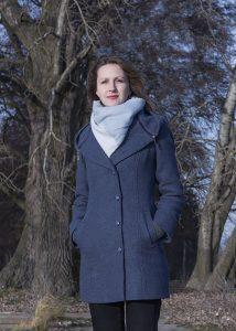 Płaszcz damski fotografia katalogowa orbin studio