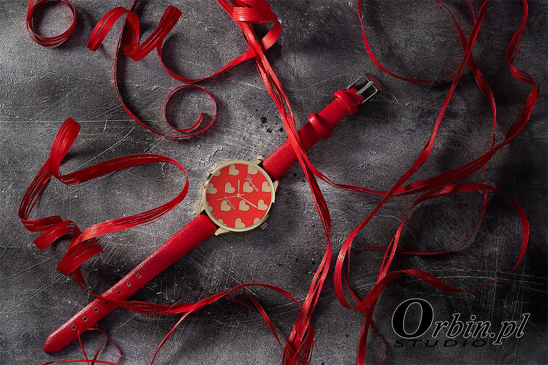 Zegarek aranżacja - orbin studio