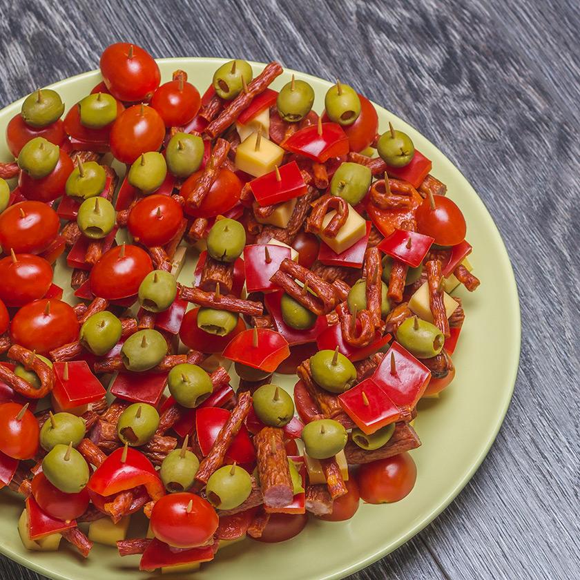 Koreczki 2 - Fotografia kulinarna