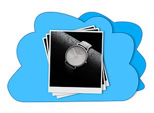 Chmura przekazywanie zdjęć