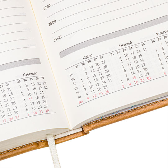 Kalendarz 06 - zdjęcie packschot - Orbin studio