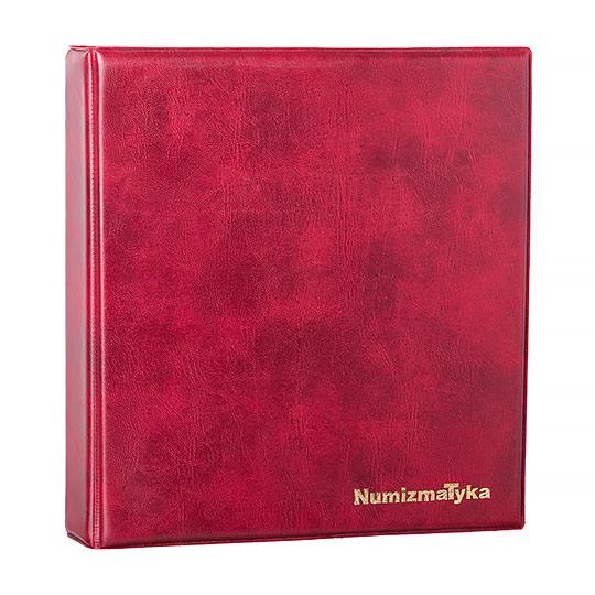 Klaser Numizmatyczny Czerwony - Packshot - Orbin Studio