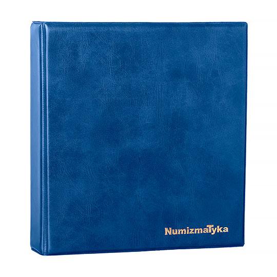 Klaser Numizmatyczny Niebieski - Packshot - Orbin Studio