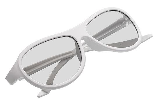 Okulary Białe Packshot - Orbin Studio