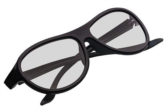 Okulary Czarne Packshot - Orbin Studio