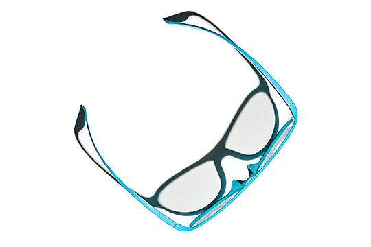 Okulary Niebieskie Cień Packshot - Orbin Studio Z 01