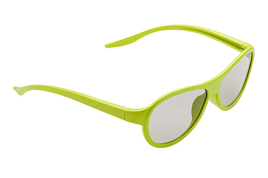 Okulary Packshot Zielone - Orbin Studio Z 01