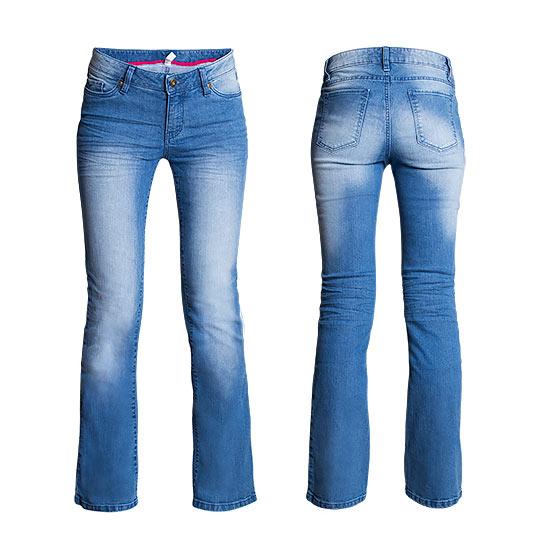 Spodnie 3 Dżins zdjęcie typu duch