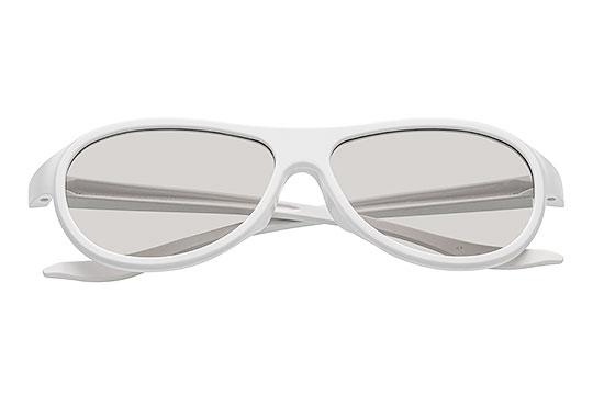 Okulary Białe Packshot - Orbin Studio 01