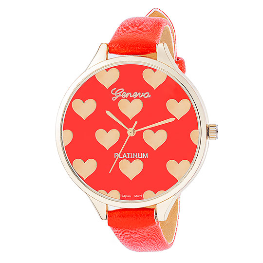 Zegarek czerwony - packshot